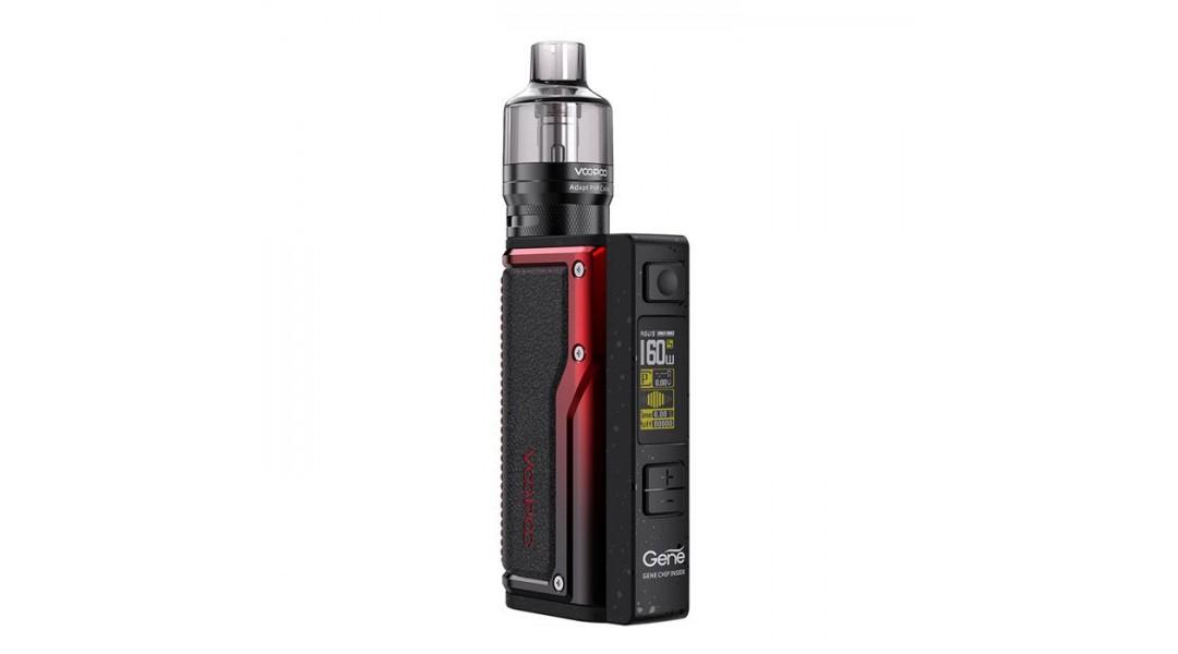 Voopoo Argus GT Dual 18650 160W Mod Vape Kit Black Red