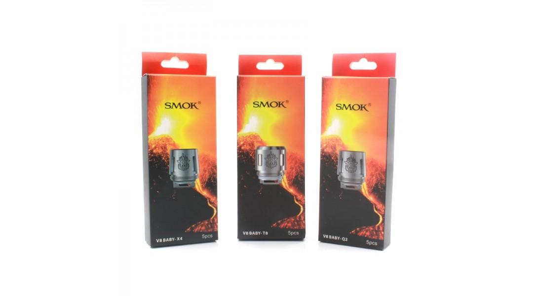 SMOK TFV8 Baby Q2 M2 X4 T8 Coils (5 Pack)