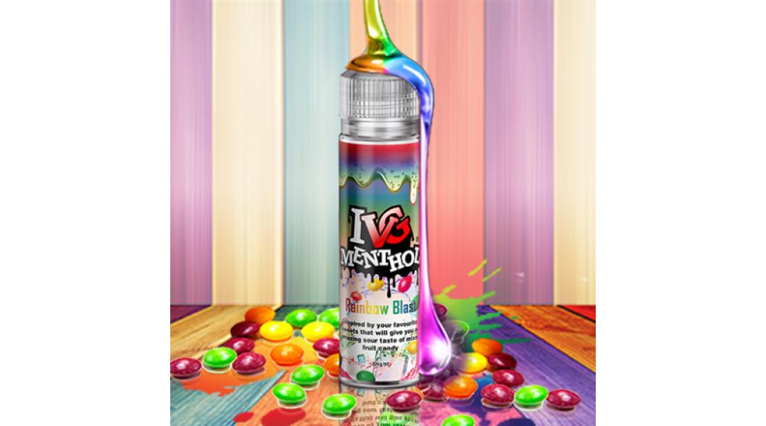 IVG MENTHOL Rainbow Blast...
