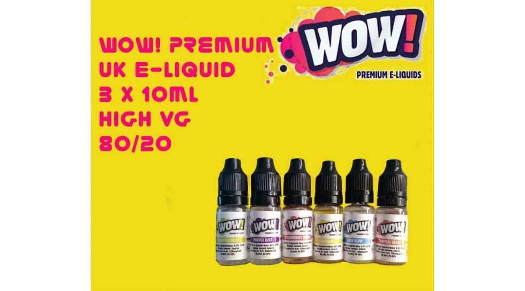 Wow Premium UK E Liquid H...